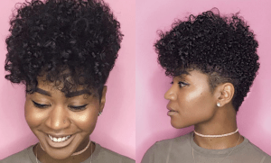 Heart Shaped Natural Hair Hair Styles Natural Hair Styles Damp Hair Styles