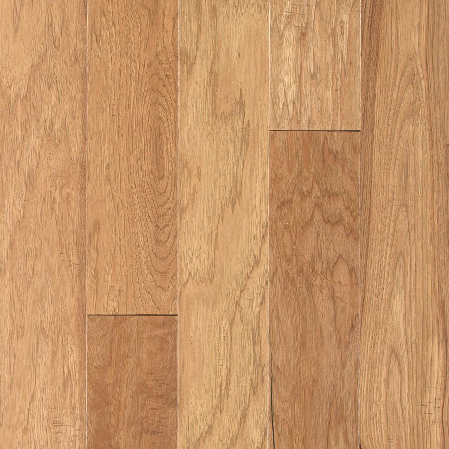 Pergo Max 5.36 In Prefinished Avondale Handscraped Hickory Hardwood Flooring  (23.25 Sq. Feet