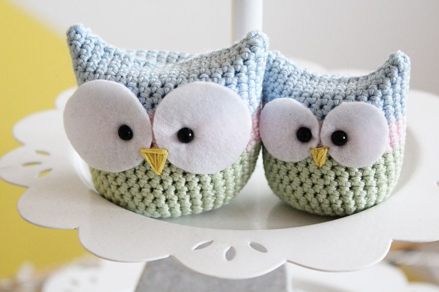 DIY: Crochet owl. These are so cute ...