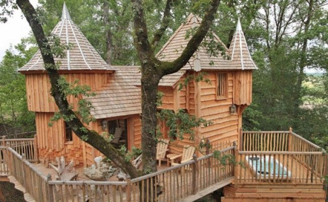 6x Inspirerende Boomhutten : Moderne tree houses leven huizen en natuur