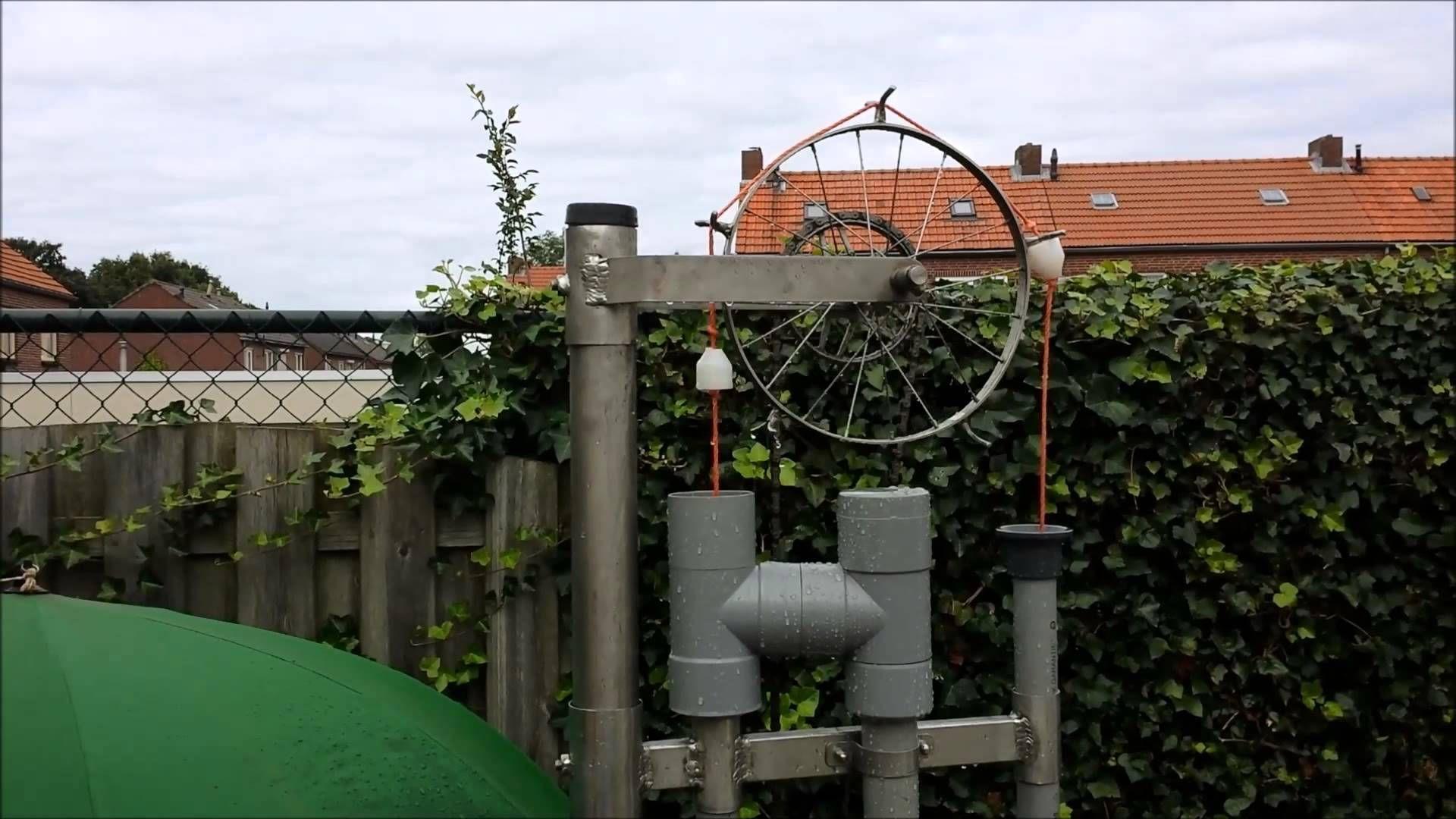 Touwpomp rope pump Seilpumpe stirling engine heteluchtmotor.