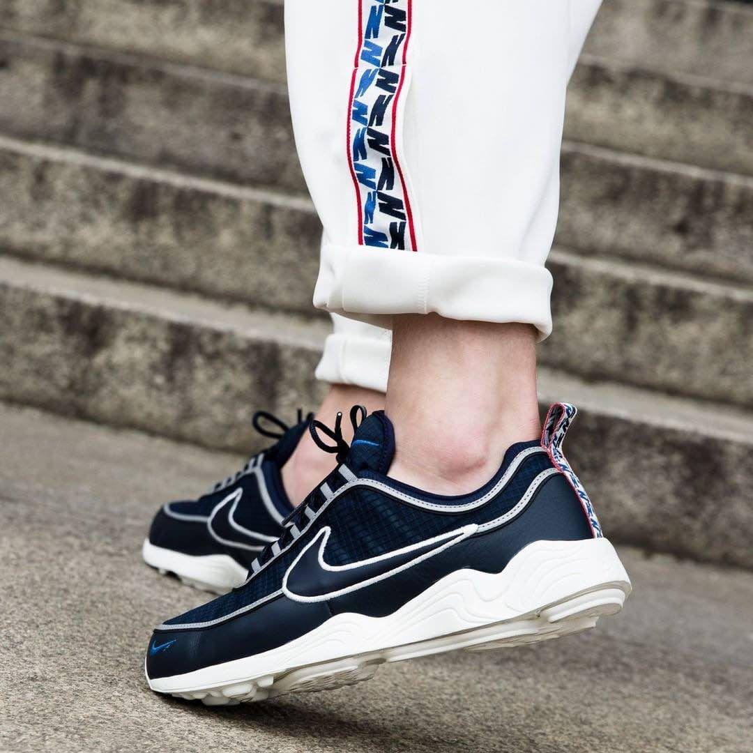 cadd6457854 Nike Air Zoom Spiridon Obsidian / Sail | Kicks | Nike air, Nike ...