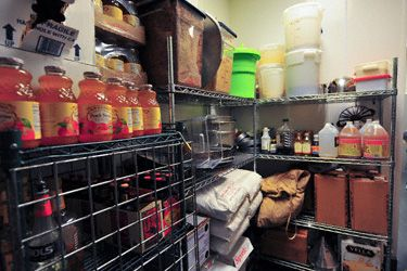 Restaurant Kitchen Storage commercial kitchen layout: storage and shelving | kitchens