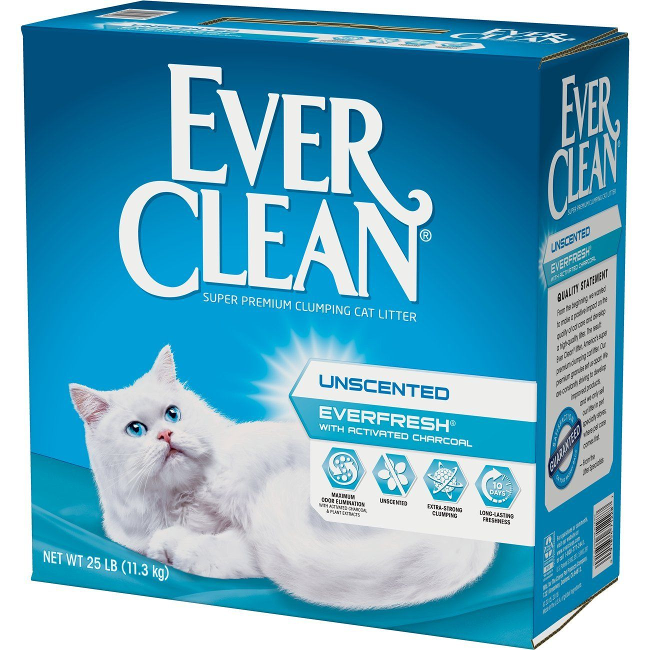 Ever Clean Ever Fresh Litter With Activated Charcoal Unscented 25 Pounds You Could Get More Information By Click Best Cat Litter Cat Litter Clay Cat Litter