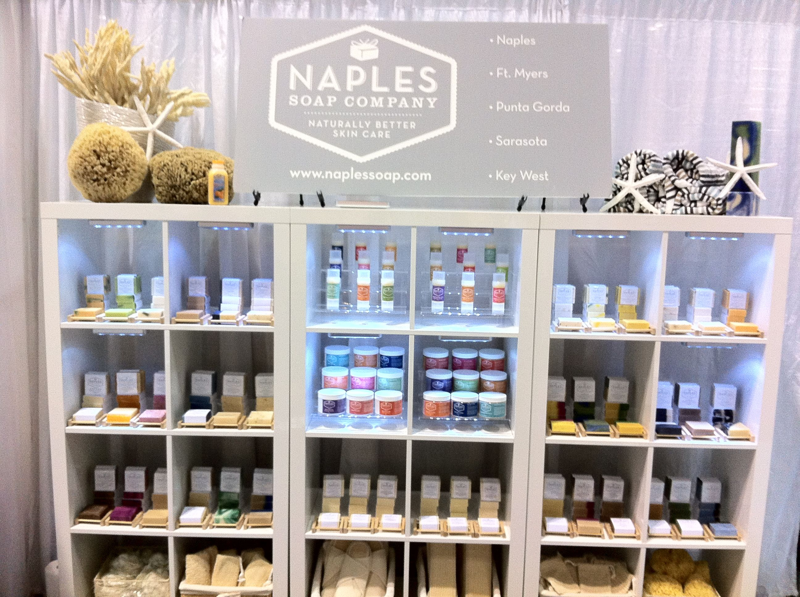 Visit naples soap company at the orlando surf expo booth for Craft stores naples fl