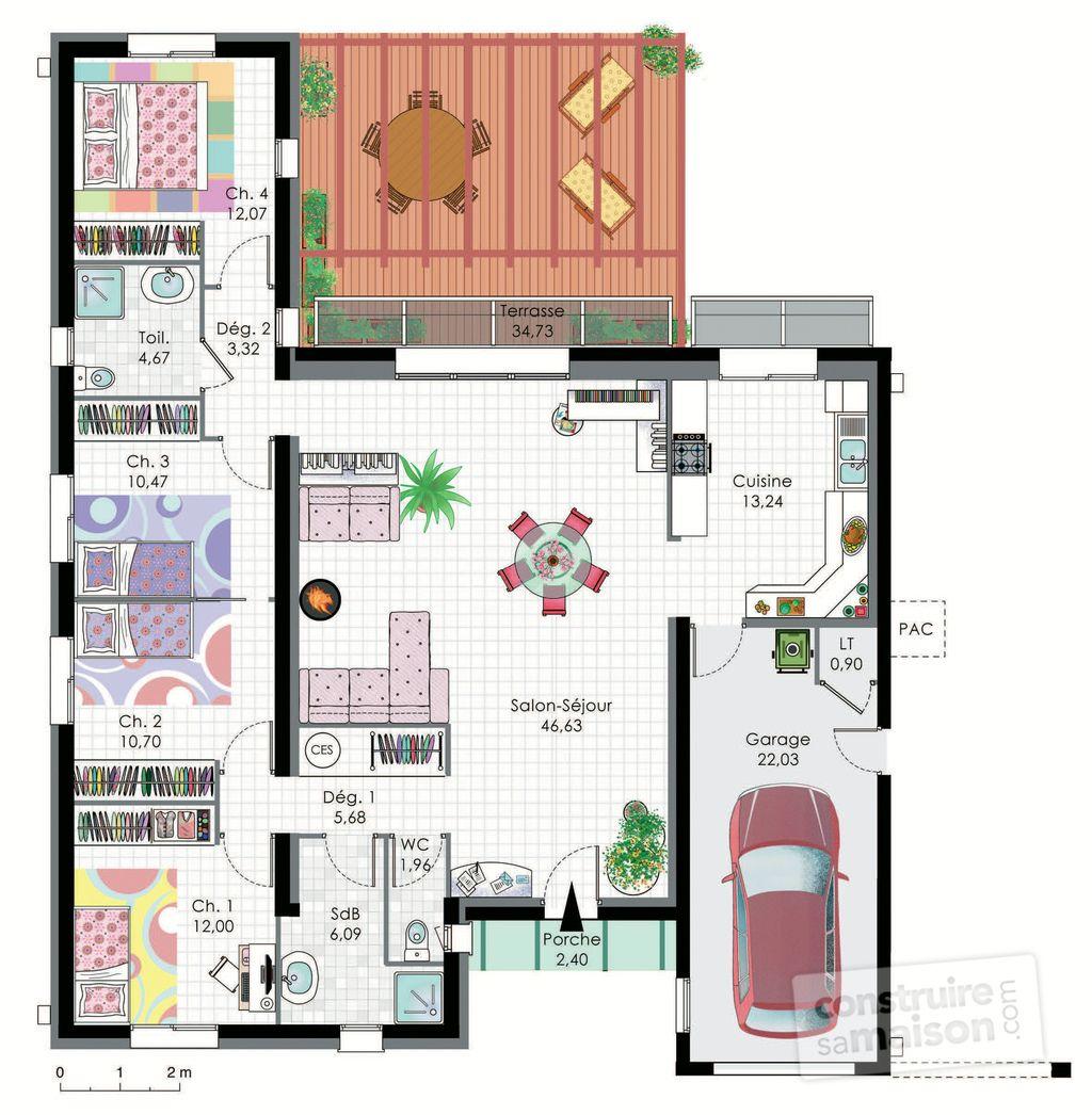 Maison bioclimatique house for Les meilleurs plans de maison