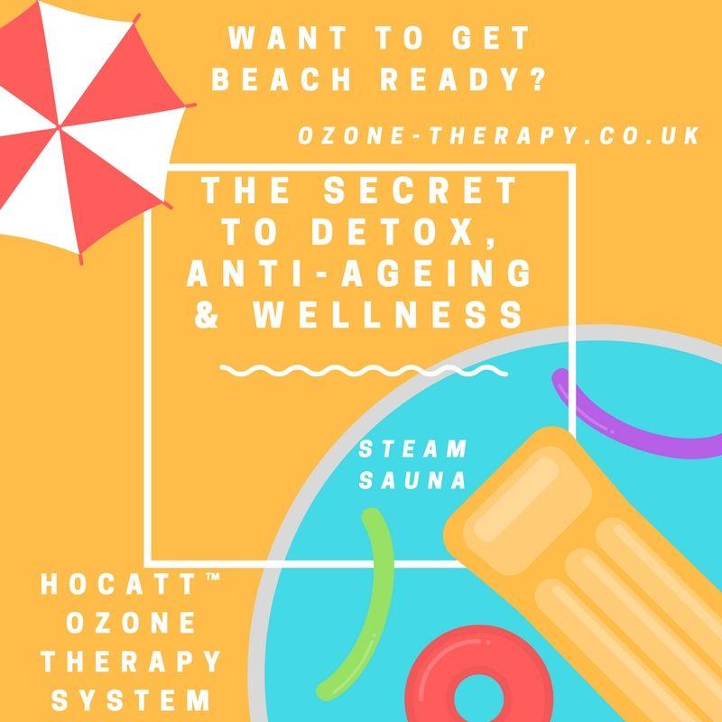 The HOCATT™ steam sauna's healing benefits include