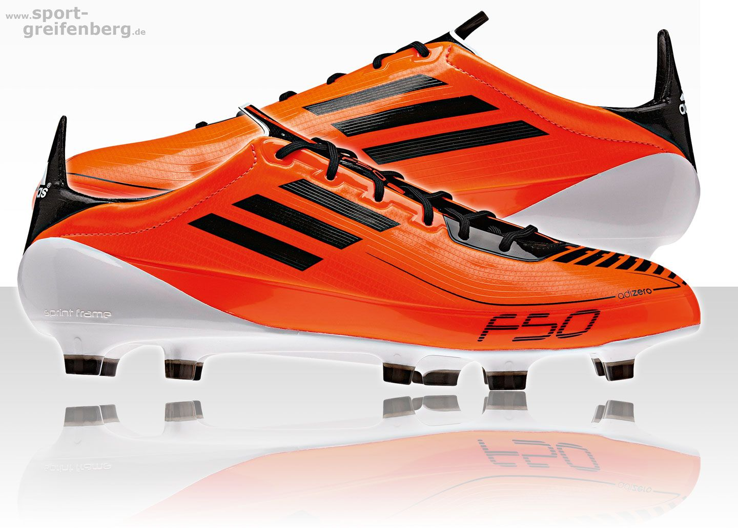 Football boots · Adidas F50 adizero 2011 orange