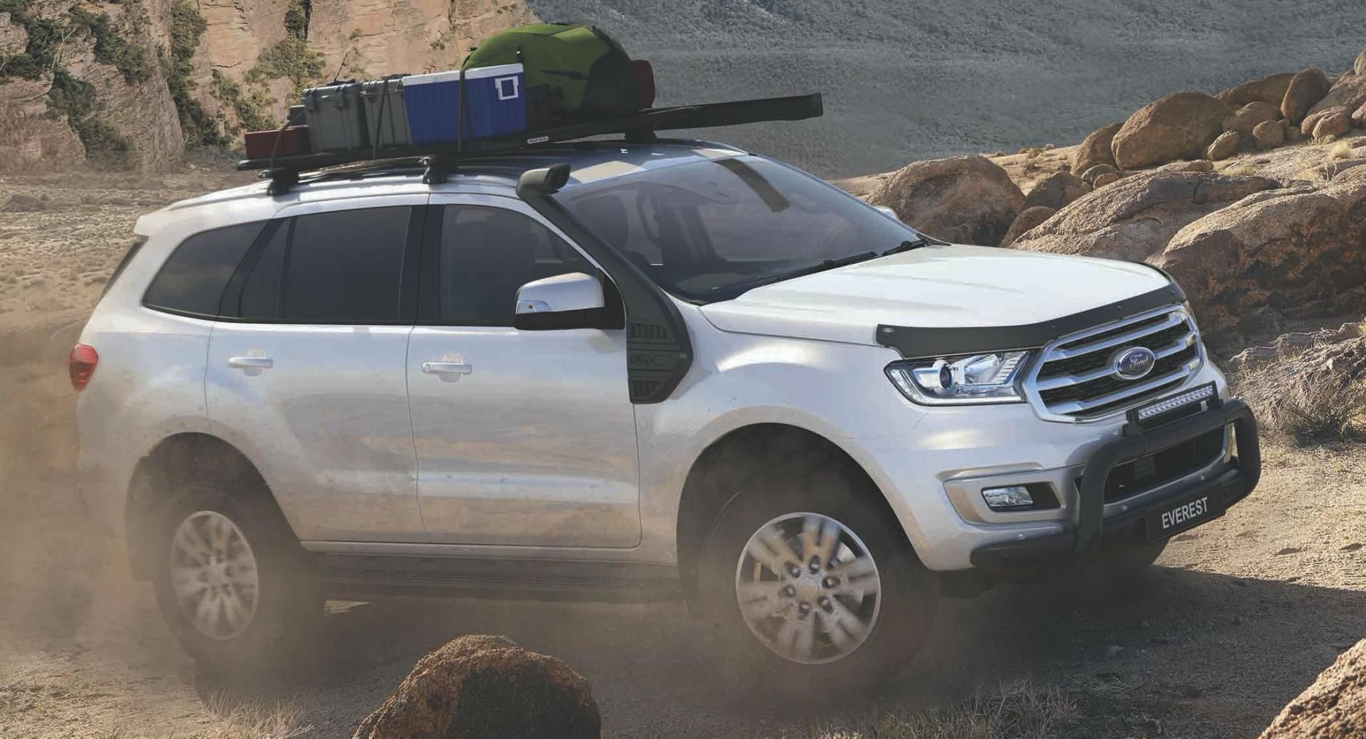 Basecamp Accessories Pack Makes Australia S Ford Everest Even More