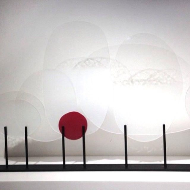 A Big Happy Birthday to Emily McIntosh! image: Emily McIntosh, 'Memory of Cells I', (detail) 2010, glass, mild steel stand, 42 x 79.5 x 5cm