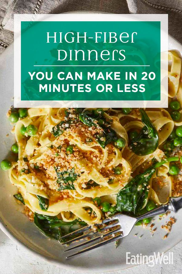 High-Fiber Dinners You Can Make in 20 Minutes or Less images