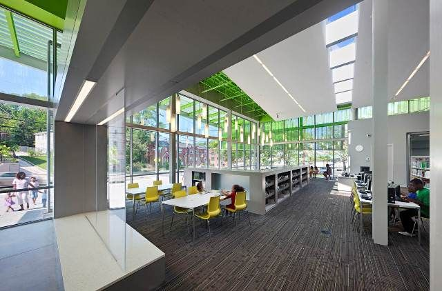 Library Interior Design Award | Project Title: Anacostia ...