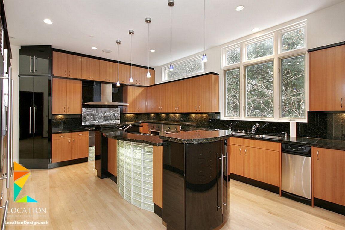 افضل انواع المطابخ بالصور لوكشين ديزين نت Kitchen Design Luxury Kitchen Design Kitchen Design Gallery