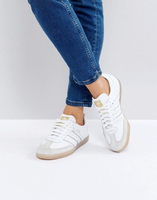adidas original adidas samba blanche