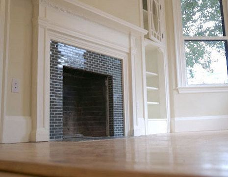 How To Tile Over A Brick Fireplace Fireplace Tile Surround