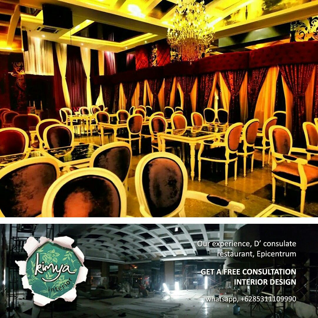 Our Classic Interior Project Design And Construction. Du0027consulate  Restaurant, Epichentrum, Jakarta