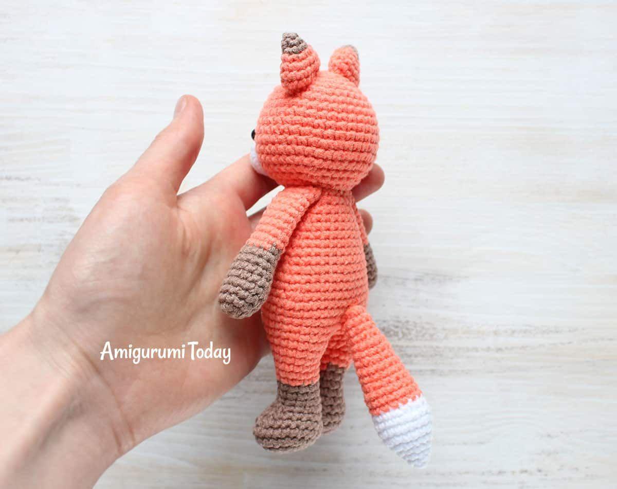 Gratis Cuddle Me Fox Crochet Pattern | Muñecas | Pinterest