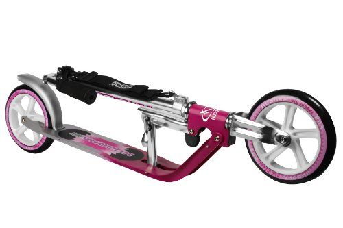 awesome HUDORA 205mm Wheel Scooter - Magenta / Silver
