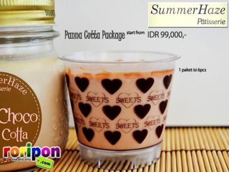 [ New Offer ] Get This Special Panna Cotta Handmade And Fresh Product. Now You Can Buy This Panna Cotta From Summerhaze Only Idr 99,000,- / Pack ( 1 Pack = 6 Pcs ) Only At www.roripon.com