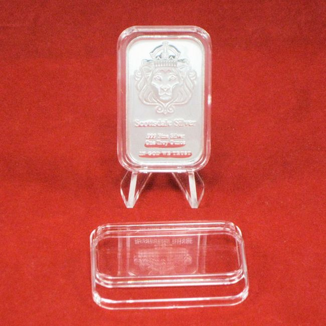 1 Oz Silver Bar Holder Silver Bars Silver Perfume Bottles