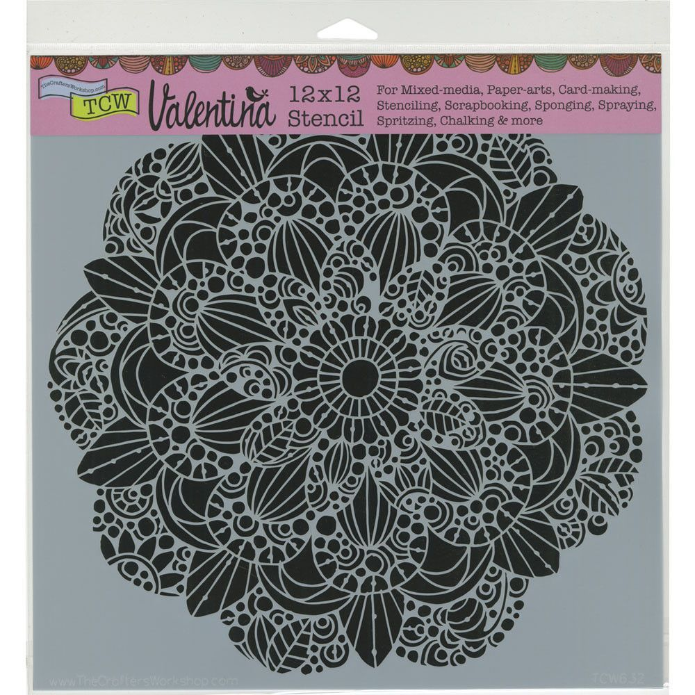 """The Crafter's Workshop Template 12""""x12"""" - Sweet Posey"""