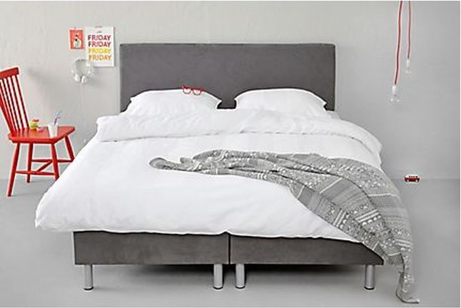 Wehkamp Complete Slaapkamers : De complete boxspring larvik bevat een boxspring matras