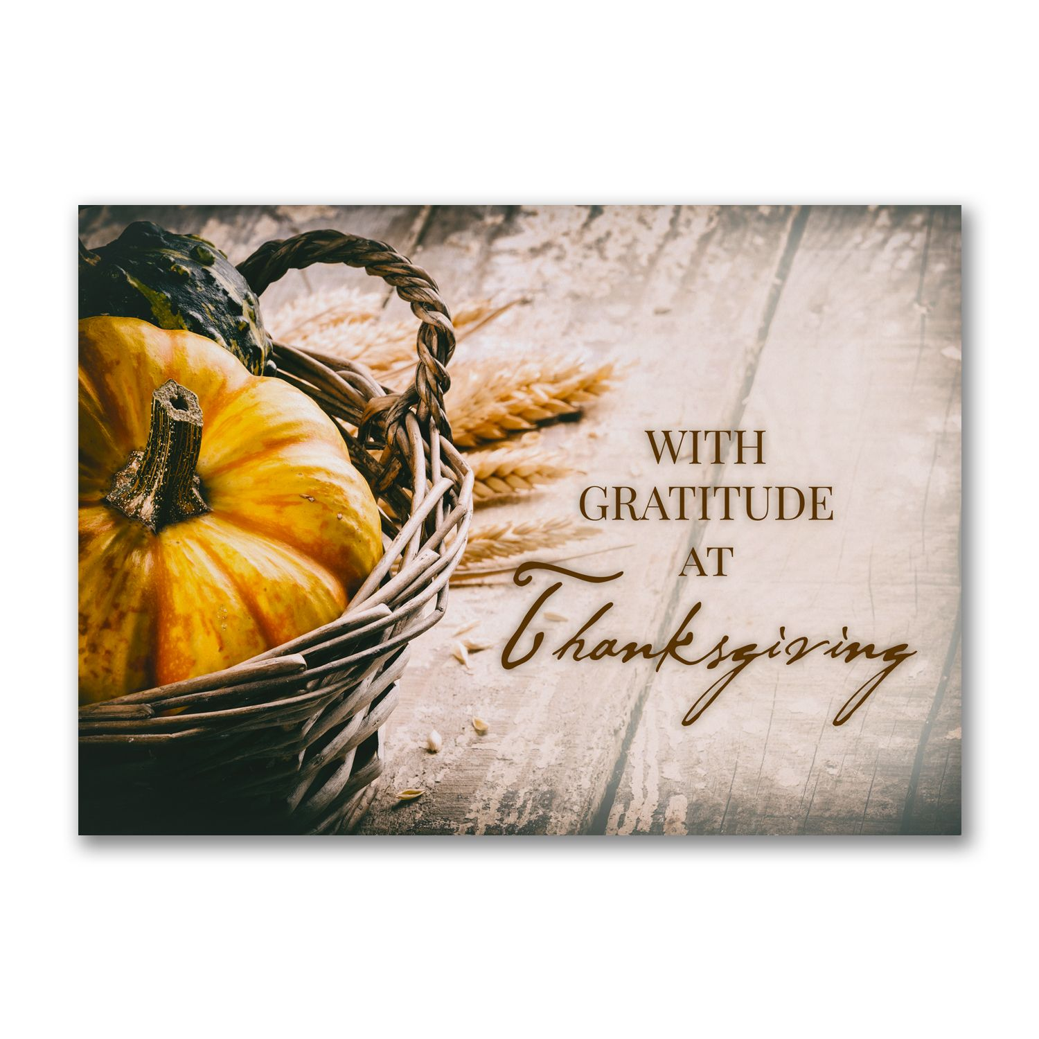 Rustic Thanks Thanksgiving Cards for business! http://bustlingbride ...