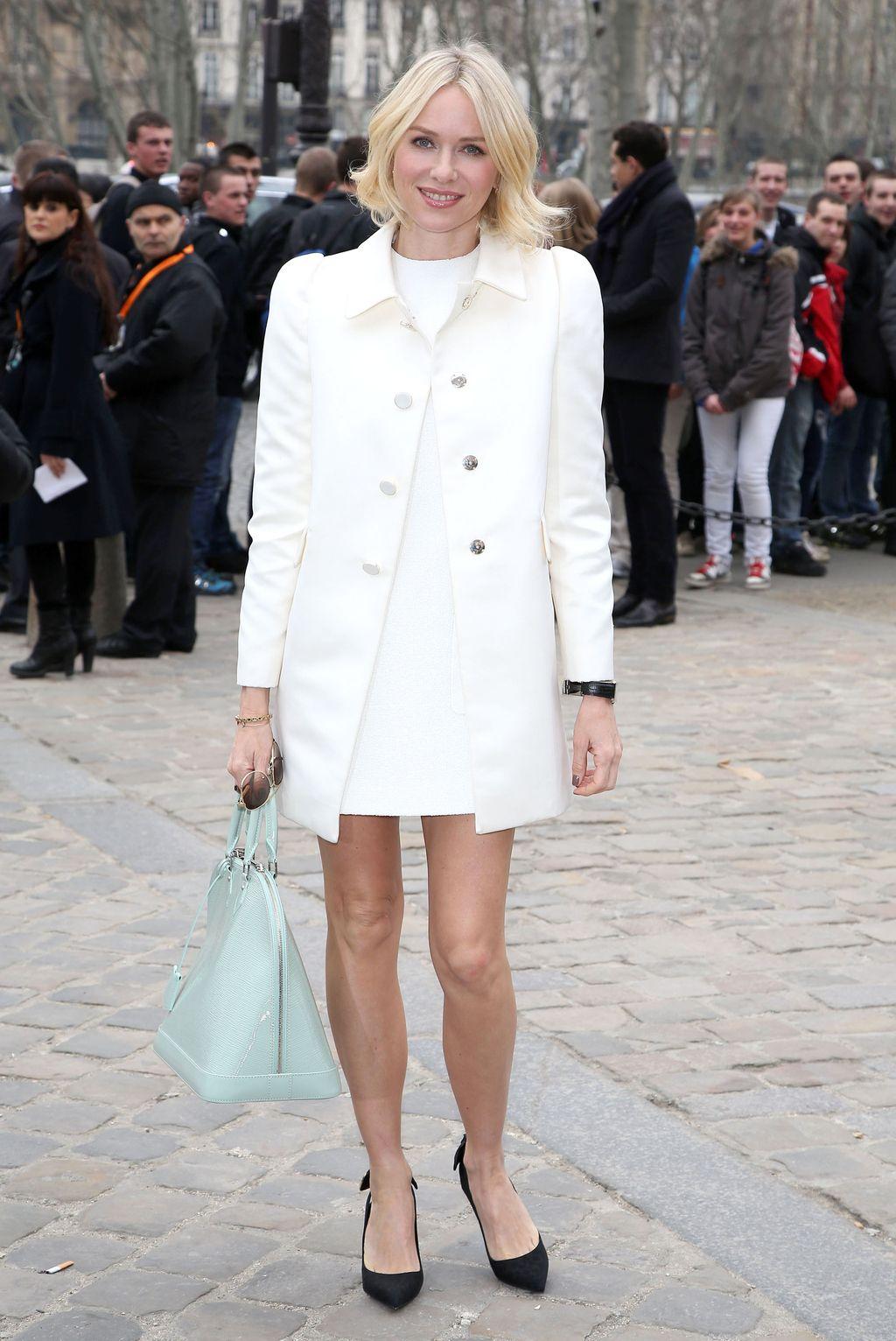Naomi Watts At The Louis Vuitton F/W 2013 Show Paris Fashion Show