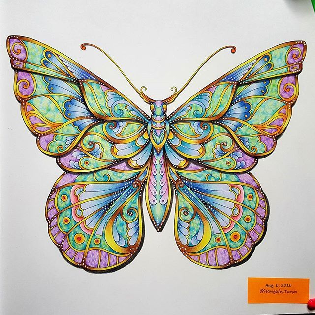 ⛦2016. 8. 6. . 매지컬정글 ; Magical Jungle [ No.6 ] ➡ The finished painting☺ ➡ Colored pencil, see the tag. . . #마법의정글 #매지컬정글 #MagicalJungle  #컬러링북 #ColoringBook #조해너배스포드 #JohannaBasford  #ColoringArt #coluring #adultcoloringbook #mycreativeescape #jardimsecreto #파버카스텔폴리크로모스색연필 #스테들러카라트아쿠아렐 #Fabercastell  #Polychromos #ColorPencil #STAEDTLER  #KaratAquarell #Pencil  #책스타그램 #취미#일상 #힐링 #Healing
