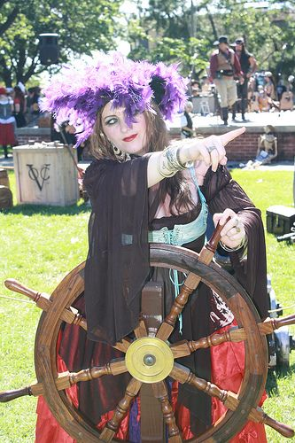 Pyrate Marshall Kandiss In Marcus Hook Pirate Wench Tribal Fusion Bellydance Cosplay Characters