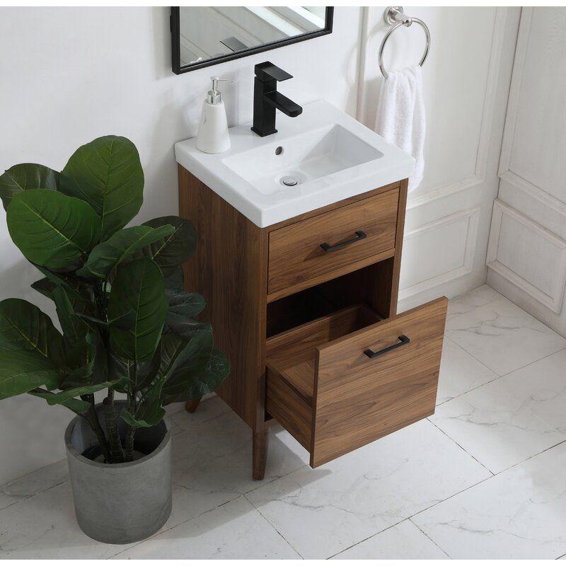 Foundstone Joel 18 Single Bathroom Vanity Set Reviews Wayfair Bathroom Vanity 18 Bathroom Vanity 24 Inch Vanity