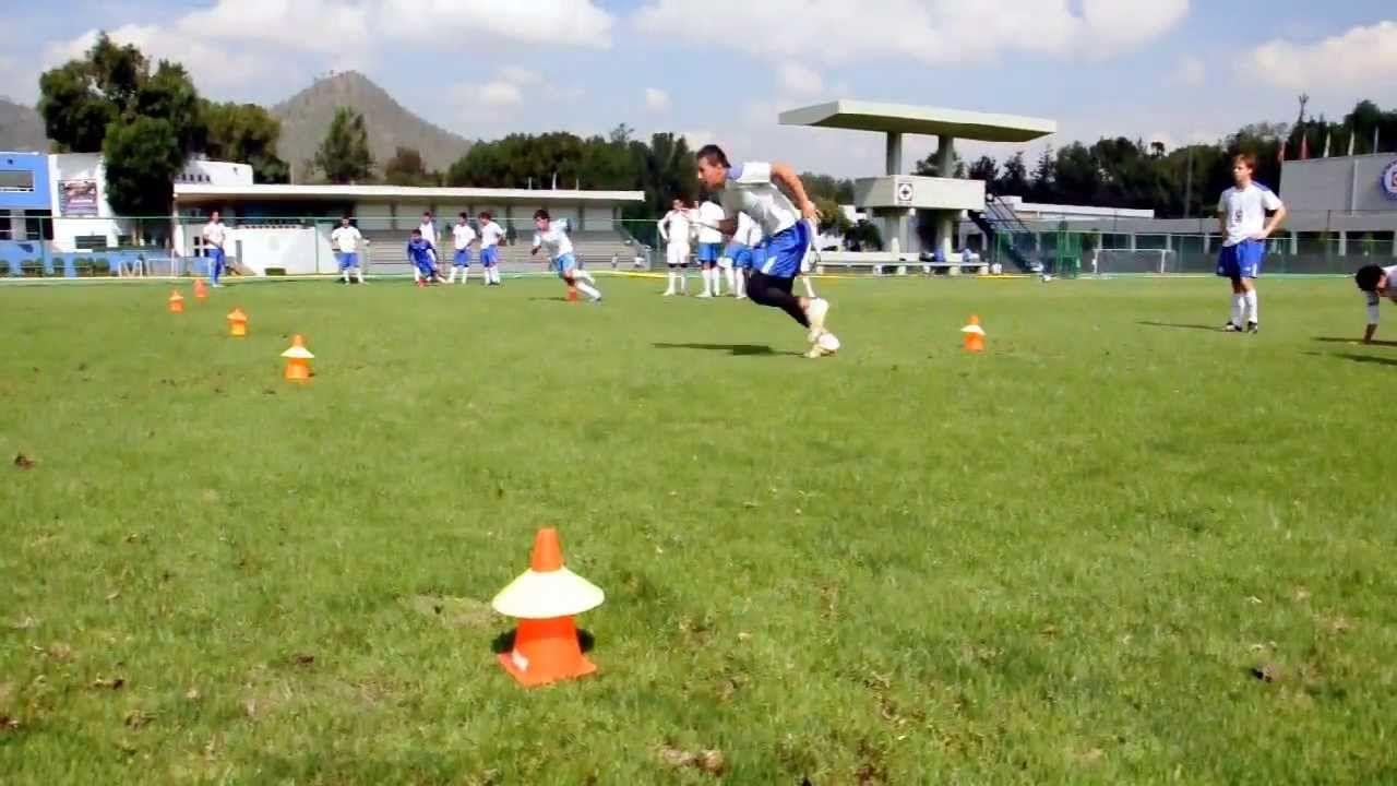 Blazing Soccer Speed 3 Cone Agility Drill Soccer drills