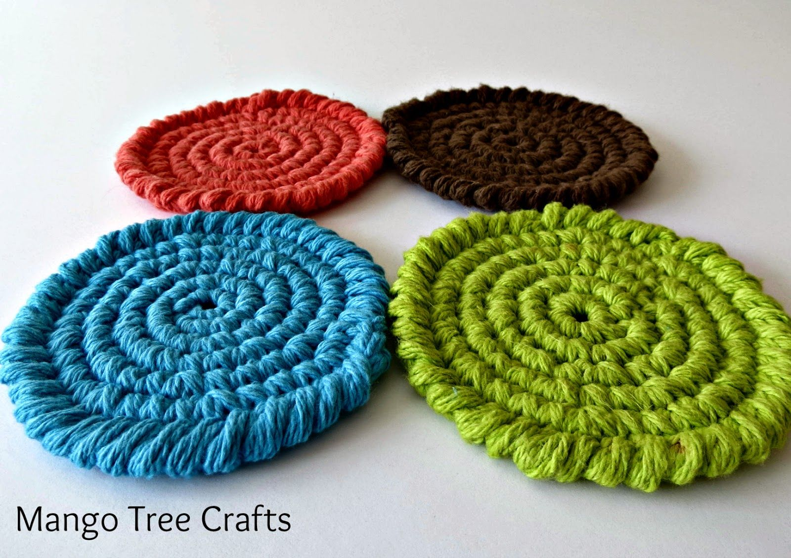 Crochet Coasters Free Pattern | Crafts | Pinterest | Ganchillo y ...
