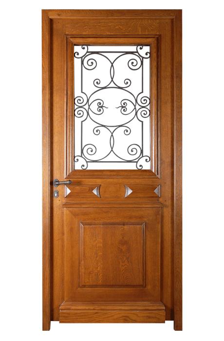 porte mod le malaval vitr e grille fer porte vitr e avec grille fer sur ch ssis ouvrant de l. Black Bedroom Furniture Sets. Home Design Ideas
