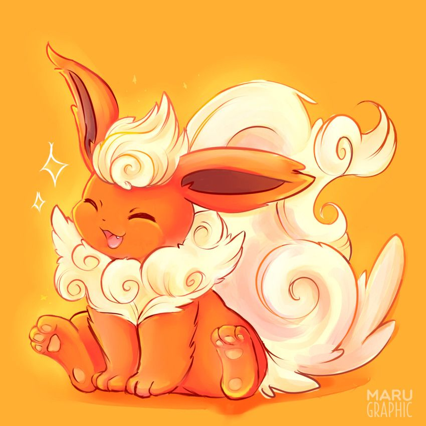 Flareon Pokemon Flareon Pokemon Eeveelutions Pokemon