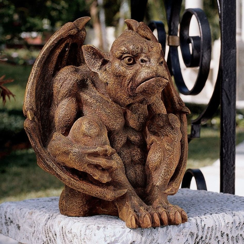 Balthazar\'s Watch Gargoyle Statue | Products | Pinterest | Products