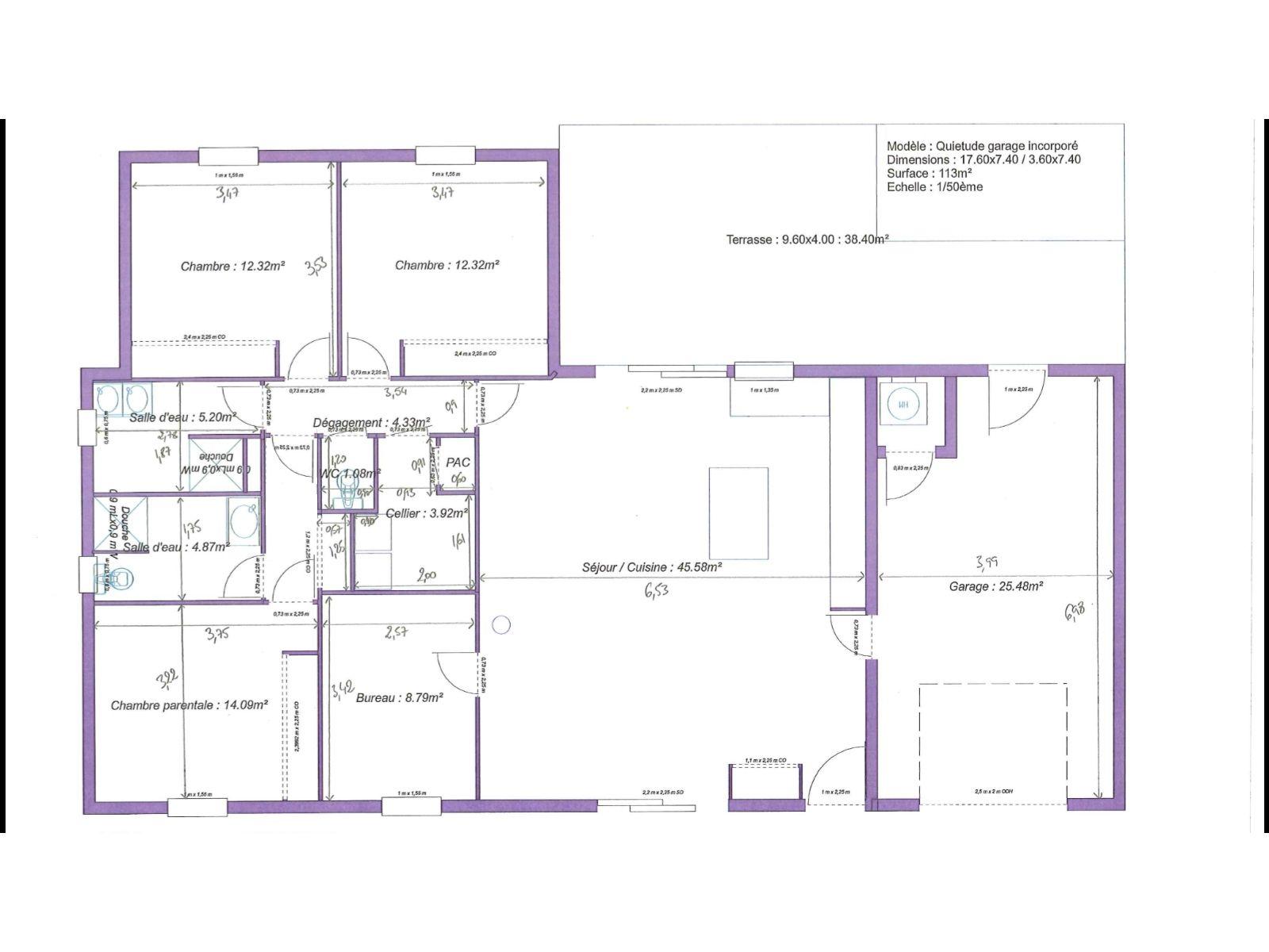 Plan Maison Plain Pied Phenix Plan Maison Plain Pied Maison Plain Pied Plan Maison