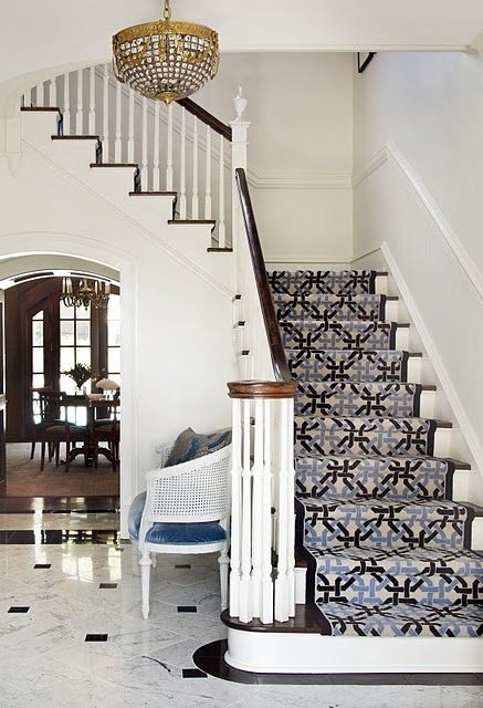 Best Love The Look Of Carpeted Stairs In A Bold Design 400 x 300
