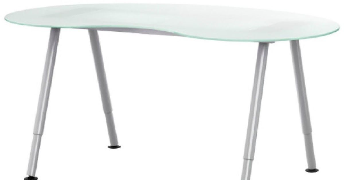 Ikea Frosted Glass Kidney Bean Desk Glass Sawhorse Desk Green House Glass Desk Glass Top Desk Ikea White Bensonandsons Co Desk Wit In 2020 Ikea Desk Ikea Glass Desk