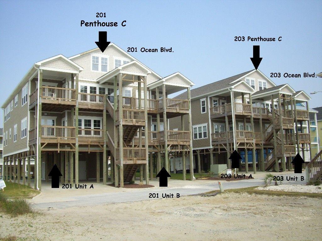 Atlantic Beach Vacation Al Vrbo 436222 3 Br Central Coast Condo In Nc Sand Gles Bedroom With Ocean Views 201 B