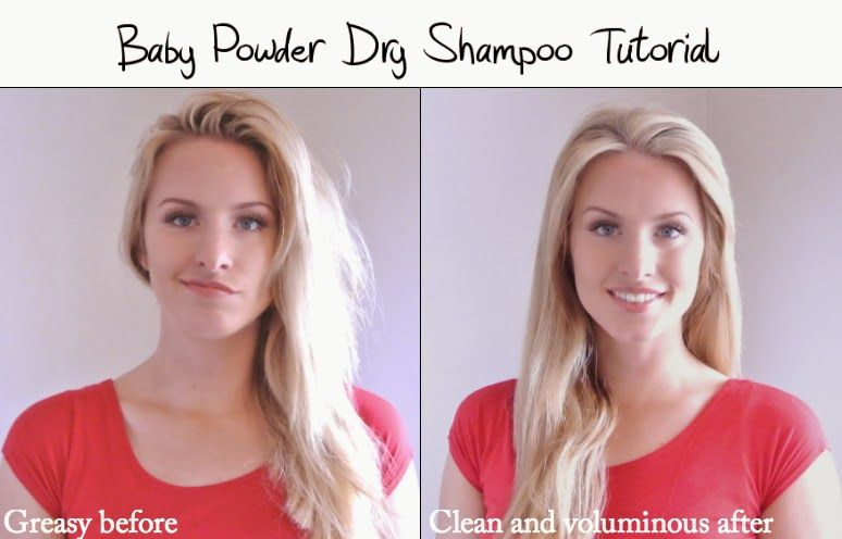 Diy Dry Shampoo Only Requires Baby Powder Kara Metta Hair Pictures Diy Dry Shampoo Dry Shampoo