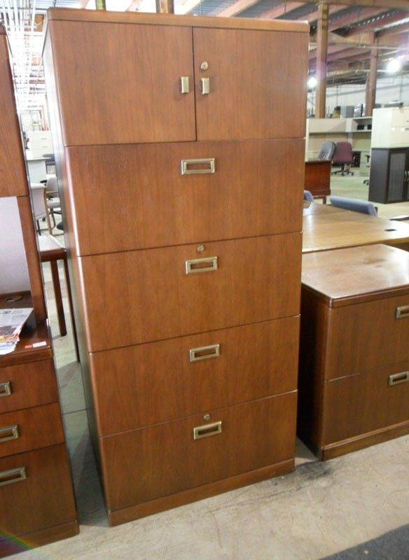 4 Drawer Lateral File Cabinet With Upper Storage