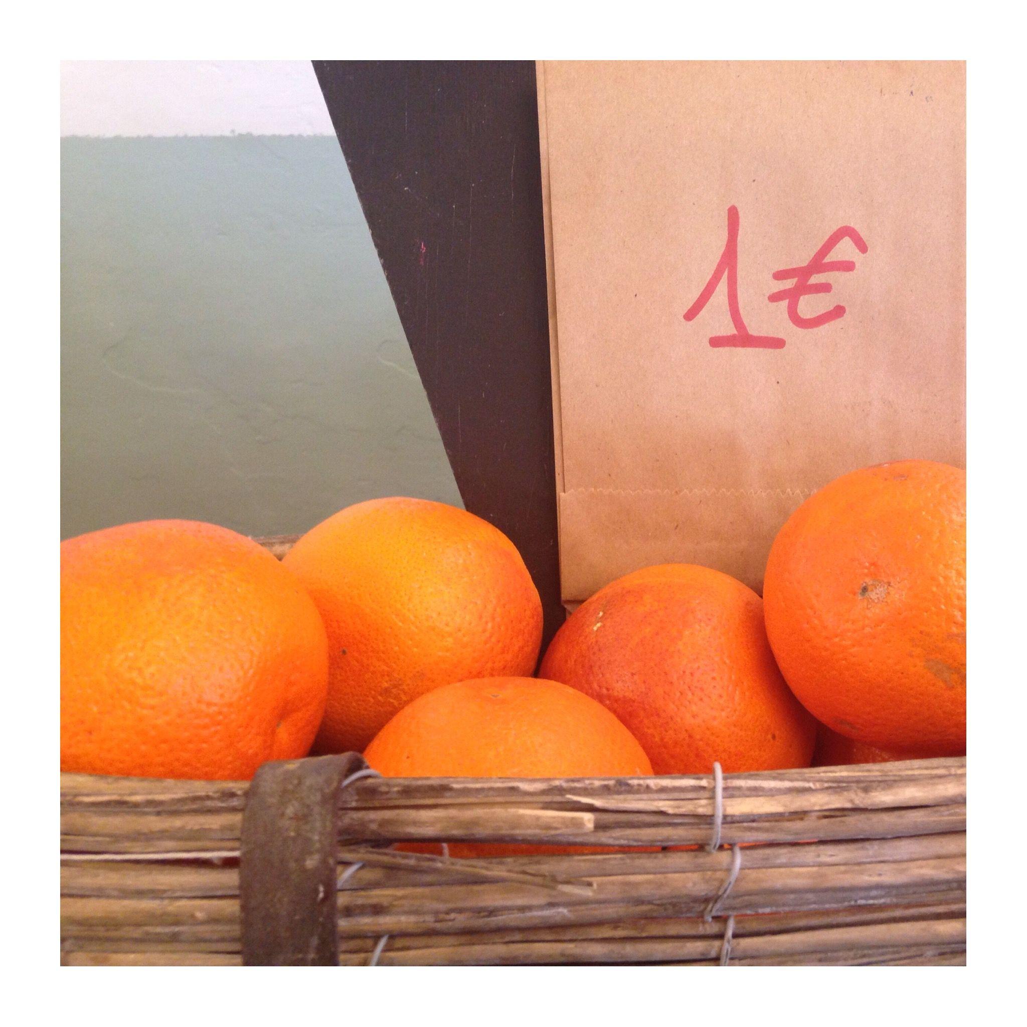 Da noi puoi passare anche solo per un #frutto! 1£ :)