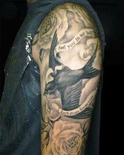 Bird Half Sleeve Swallow Tattoo Designs Swallow Tattoo Bird Tattoo Sleeves Half Sleeve Tattoo
