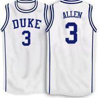 3 Grayson Allen Duke Blue Devils White Alternative basketball Jersey  (2015) d0d7d11e2093