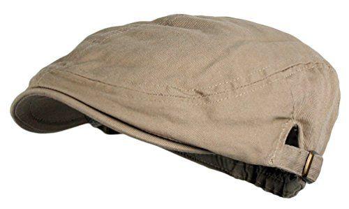 8dfb99e046637  7.50- 10.25 Wonderful Fashion Men s Cotton Flat Cap IVY Gatsby newsboy  Hunting Hat