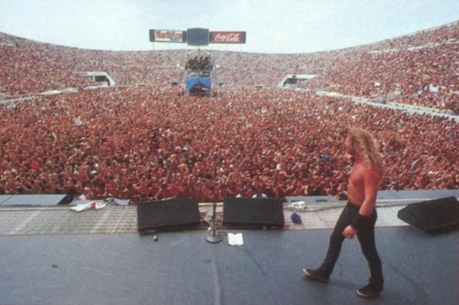 Moscow 1991 1 6 Million Fans It Is Totally Amazing Metallica