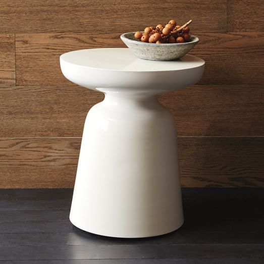 Martini Side Table White Side Tables Side Table Drum Side Table