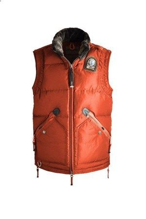 2013 Hot Sall Parajumpers Kobuk Vest Men's Orange | Parajumpers Jackets Outlet | Parajumpers Parkas On Sale | parkas-outlet.com