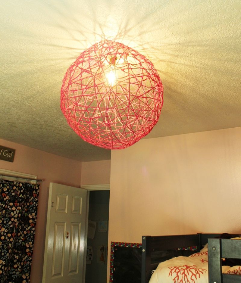 String Globe Lights Enchanting Diy String Globe Light  A Fun And Simple Project  Globe Lights Decorating Design